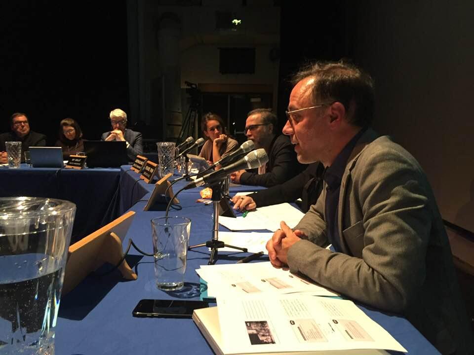 Le maire Luc Rabouin à son premier conseil d'arrondissement