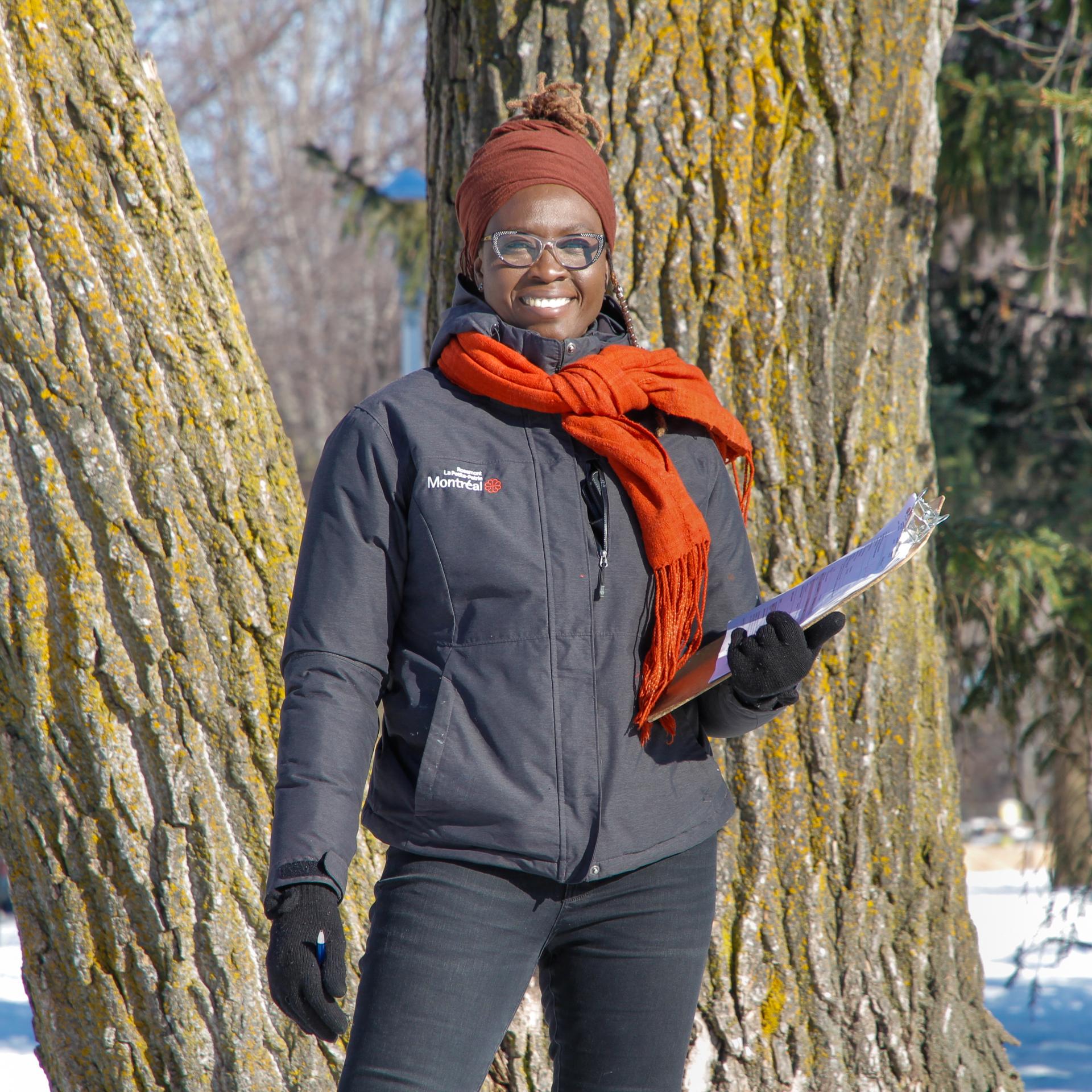 Nafy,agente technique en horticulture et arboriculture à l'arrondissement de Rosemont-La Petite-Patrie