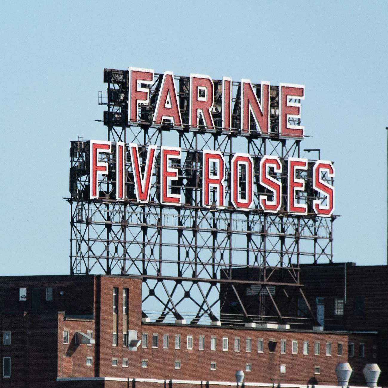 Enseigne Farine Five Roses