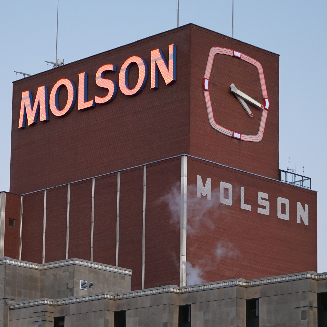 Enseigne Molson