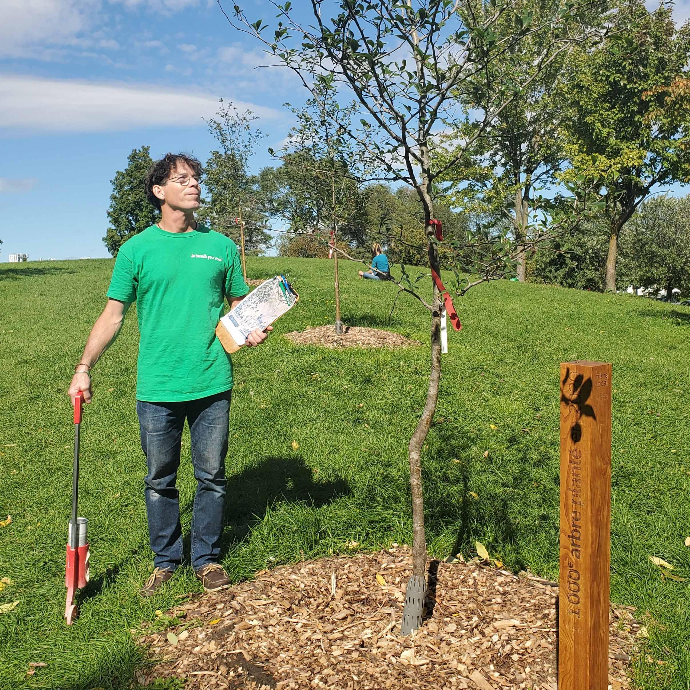Serge, inspecteur en horticulture et arboriculture