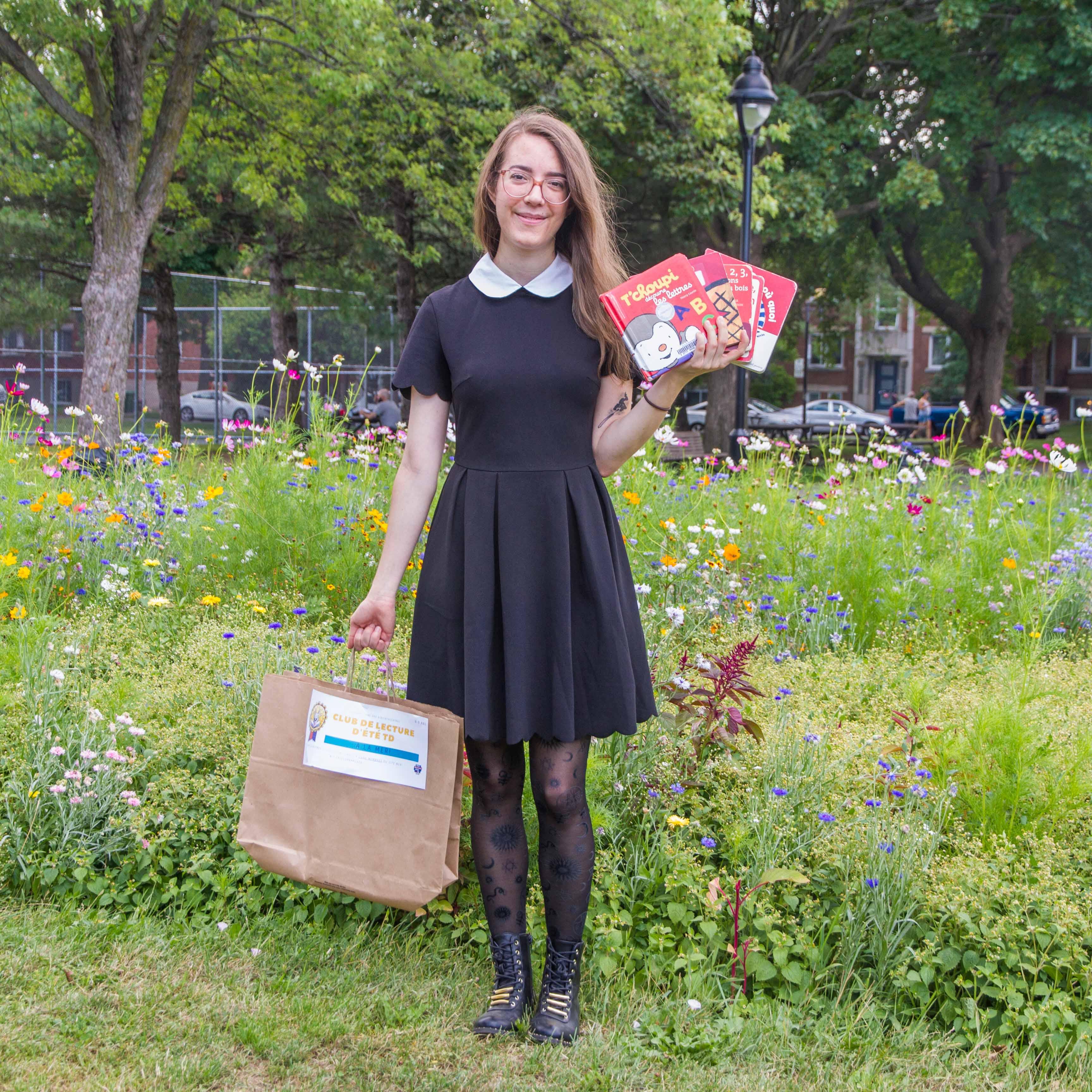 Catherine, bibliothécaire à l'arrondissement