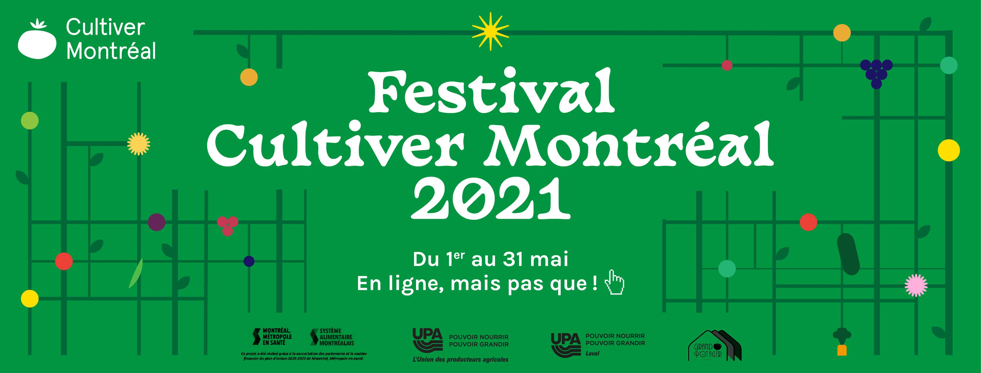 Festival Cultiver Montréal 2021