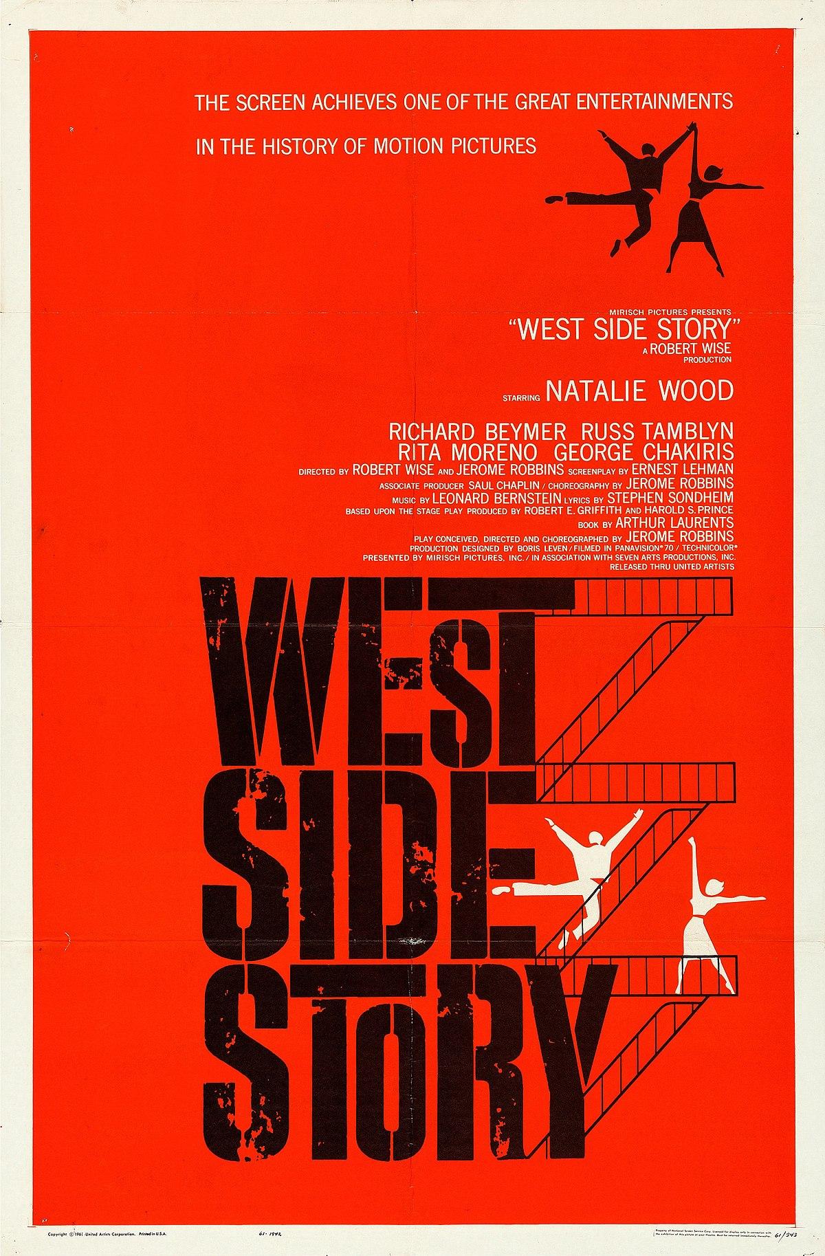 West Side Story, de Robert Wise et Jerome Robbins