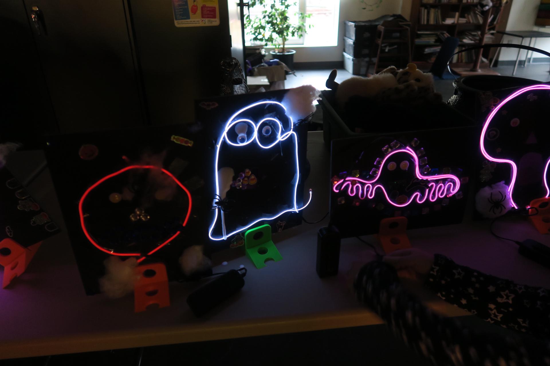 Bricolage lumineux Halloween