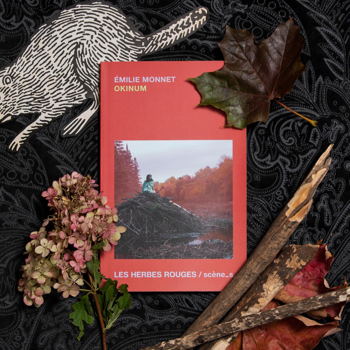 Okinum, d'Émilie Monnet, éditions Les Herbes rouges