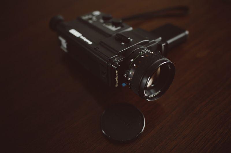 Kamera für Super-8 Filme