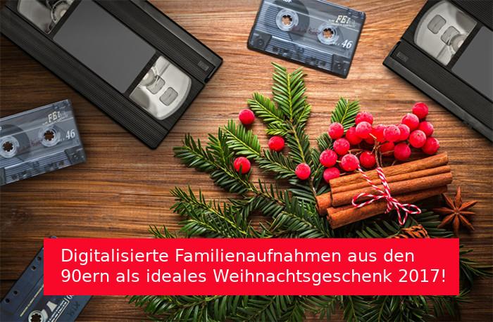 Videoaufnahmen als Weihnachtsgeschenk