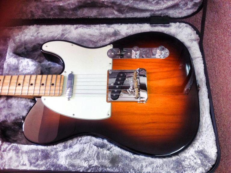 גיטרה וינטג' תל אביב, גיטרה וינטג', Fender telecaster mint 2017 corona California pro