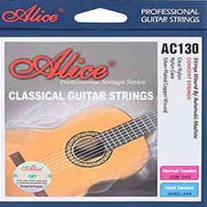 מיתרים לגיטרה תל אביב, מיתרים לגיטרה alice classic guitar strings