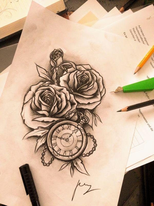 Blumen Zeichnung