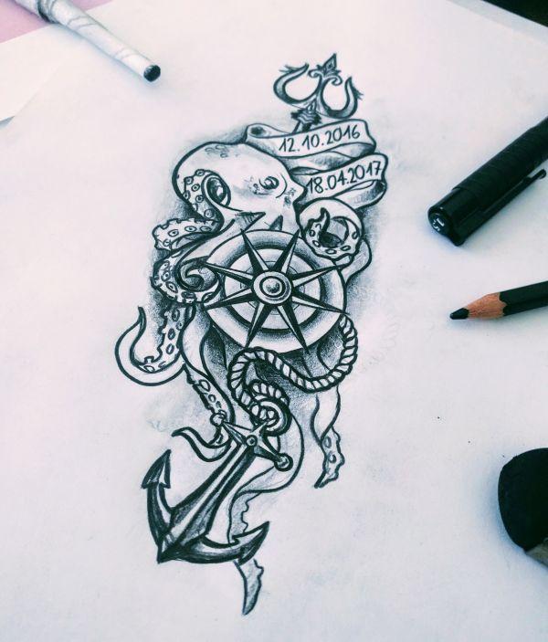 Kracke Zeichnung