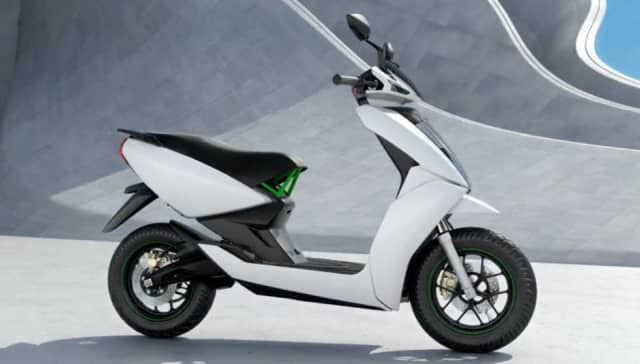 Ather S340 A Smart Electric Scooter Made in India