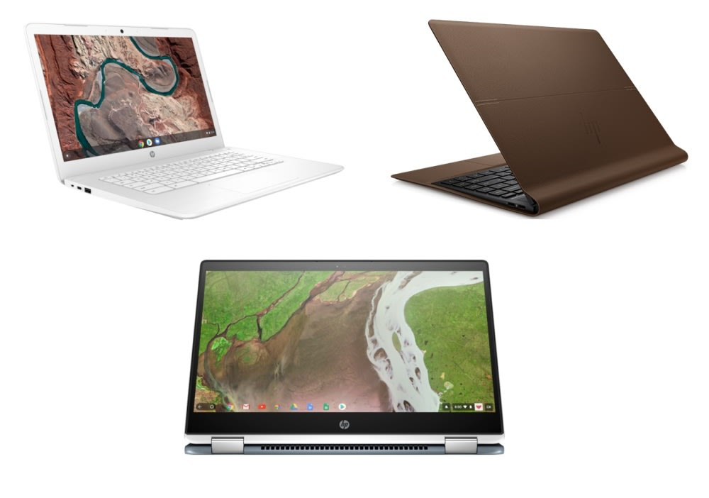 HP Chromebook x360, Chromebook 14 &