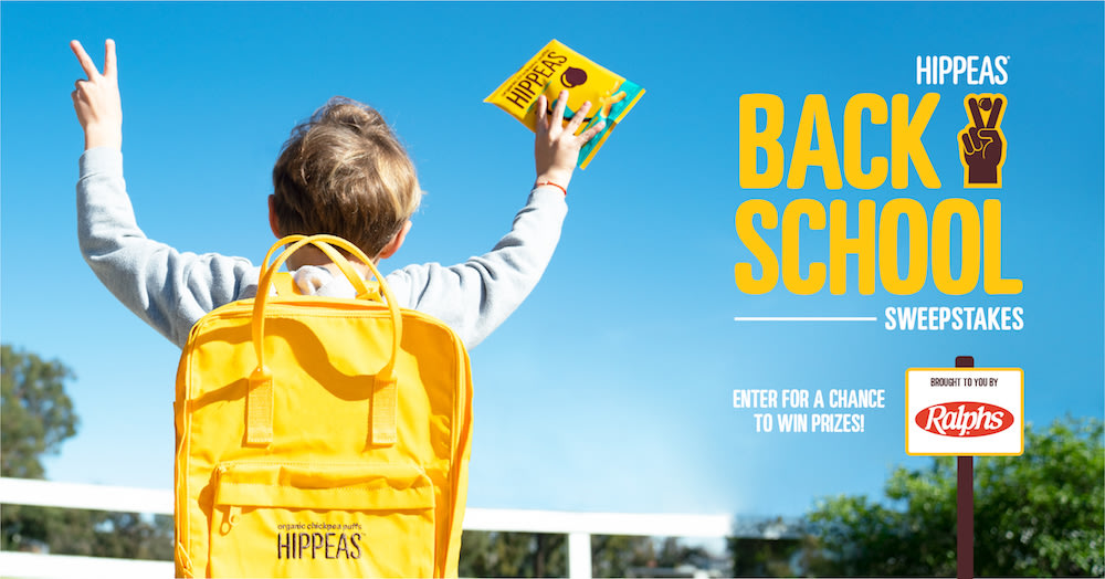 HIPPEAS x RalphsBack-to-School Sweepstakes