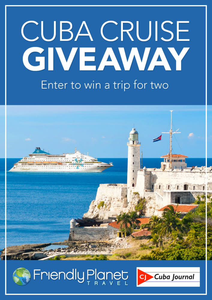 Win a Cuba cruise for Two