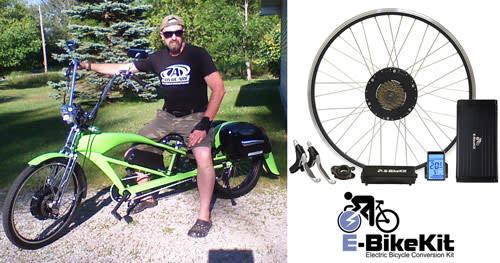 Electric Bike Conversion Kit Accessories E Bikekit