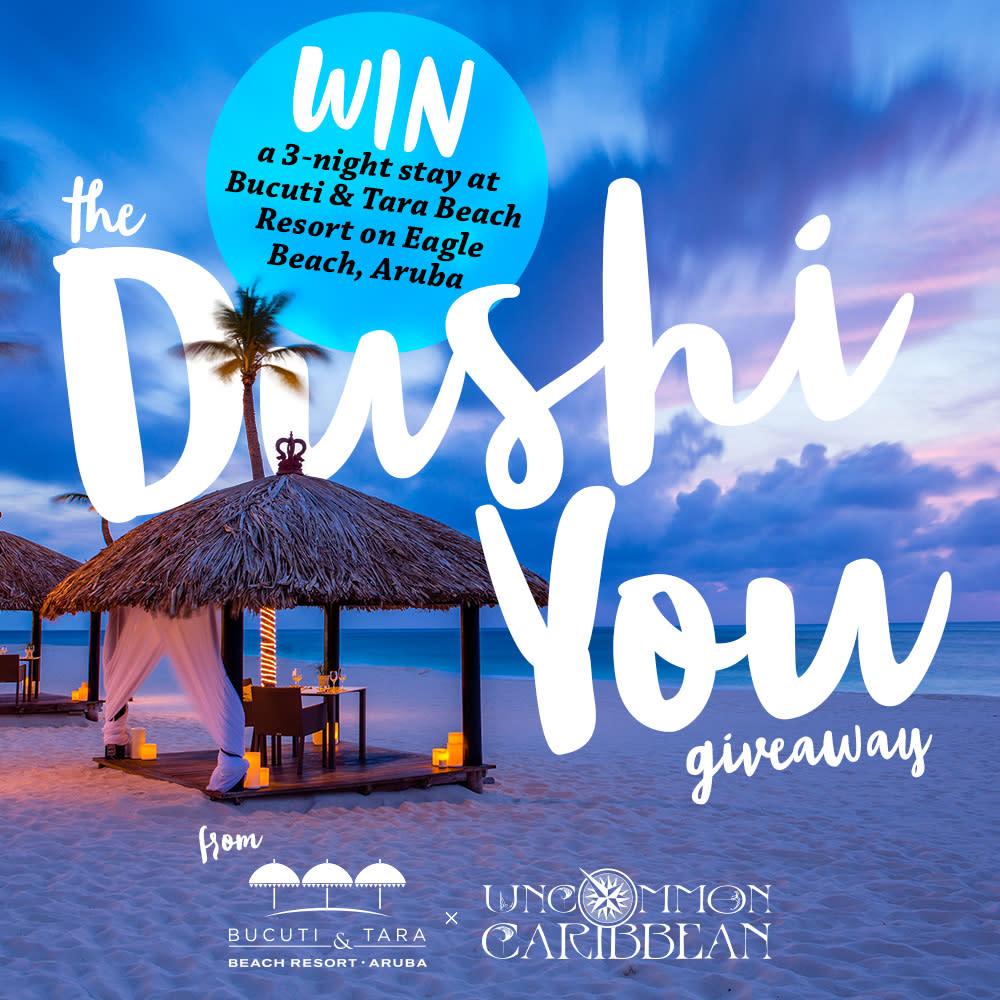 Win a 3-Night Stay at Bucuti & Tara Beach Resort on Eagle Beach, Aruba!