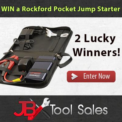Rockford PPJS2976DLX Portable Power Source - Mini Jump Starter  |Power Source Jump Starter Lightning