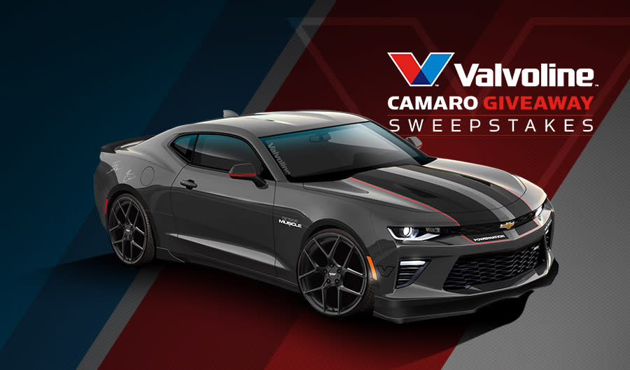 ddfdb6ccf9bc0 The Valvoline Camaro Giveaway Sweepstakes