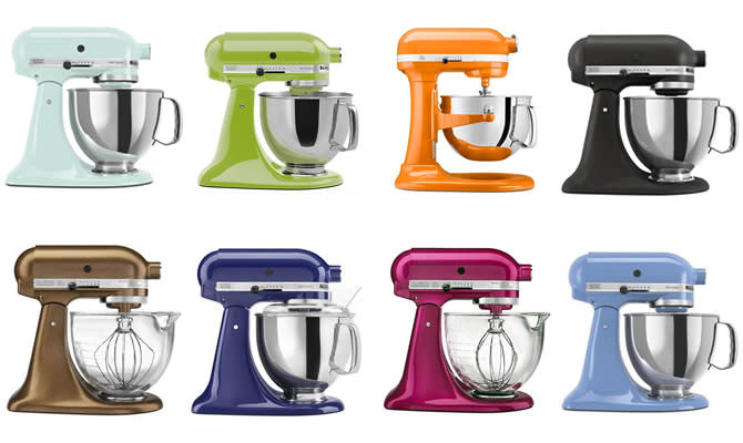 Win a New Kitchen-Aid Mixer ANY Color!