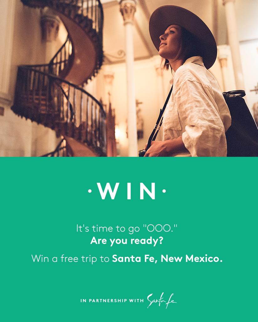 Win A Free Trip To Santa Fe