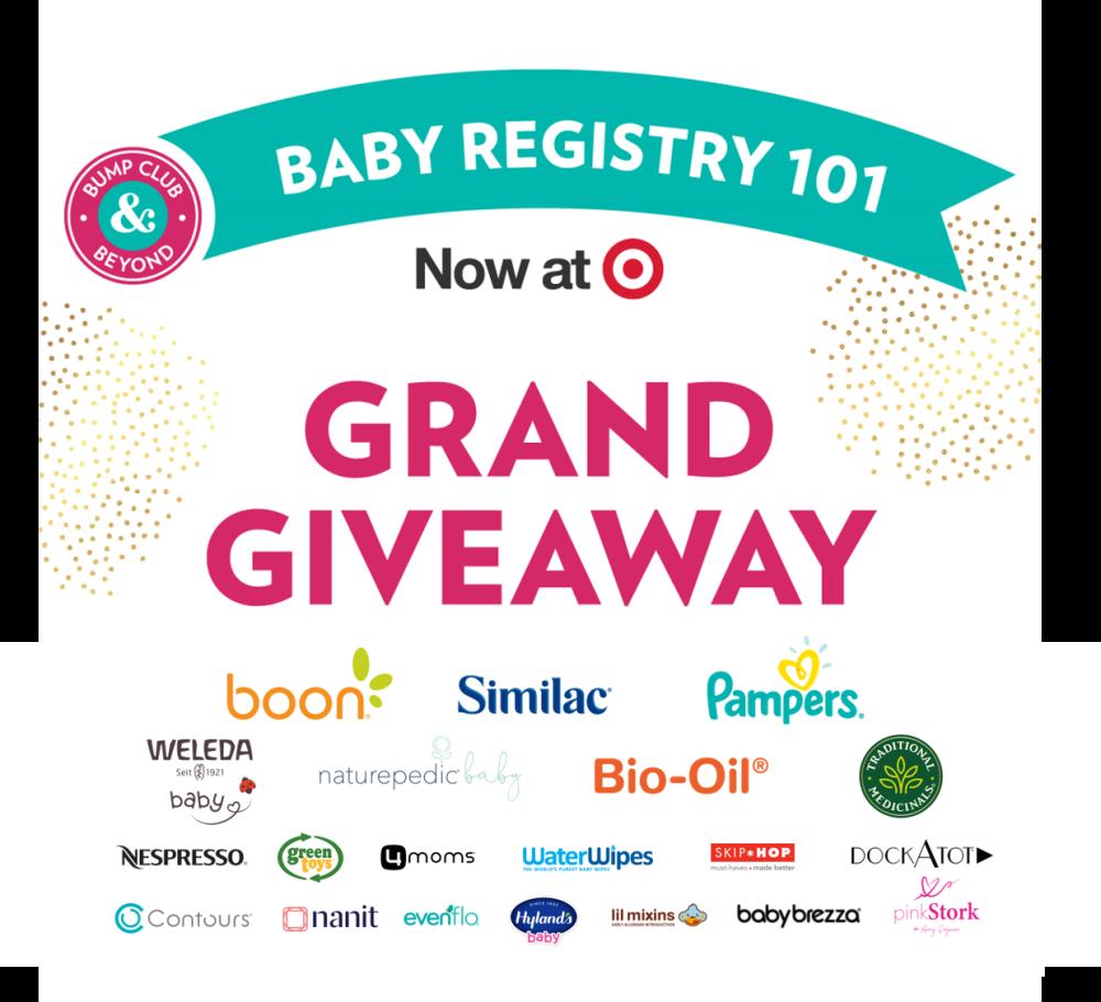 Baby Registry 101 at Target: Dream Baby Registry Giveaway!