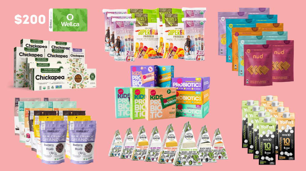 online contests, sweepstakes and giveaways - Female-founded Canadian Food & Bev giveaway valued at over $1,000!