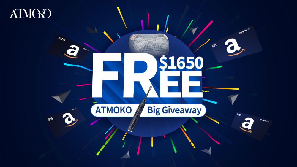 ATMOKO $1650 Gifts Giveaway