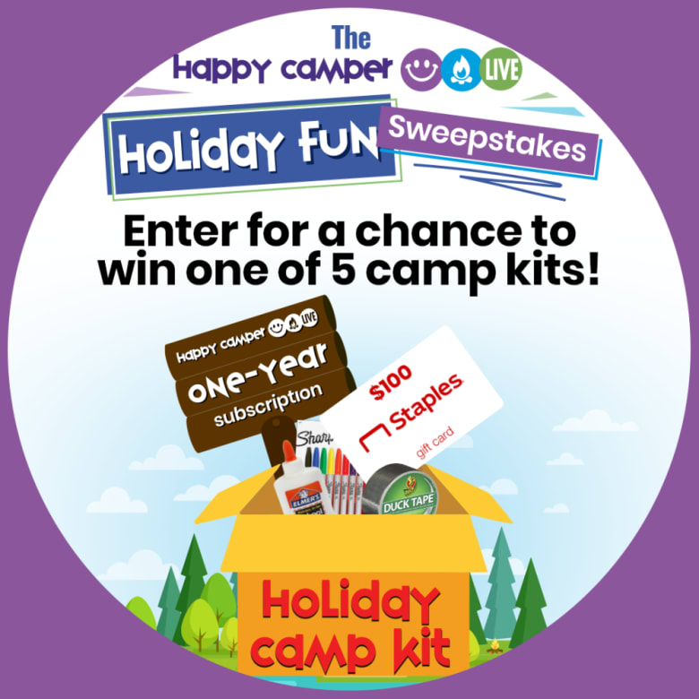 Happy Camper Live Holiday Fun Sweepstakes