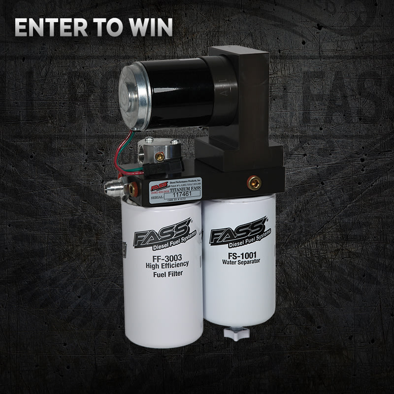 FASS Fuel System Giveaway!