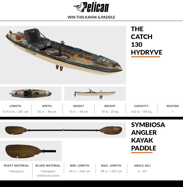 Win a Kayak &