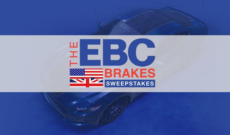 The EBC Brakes Sweepstakes