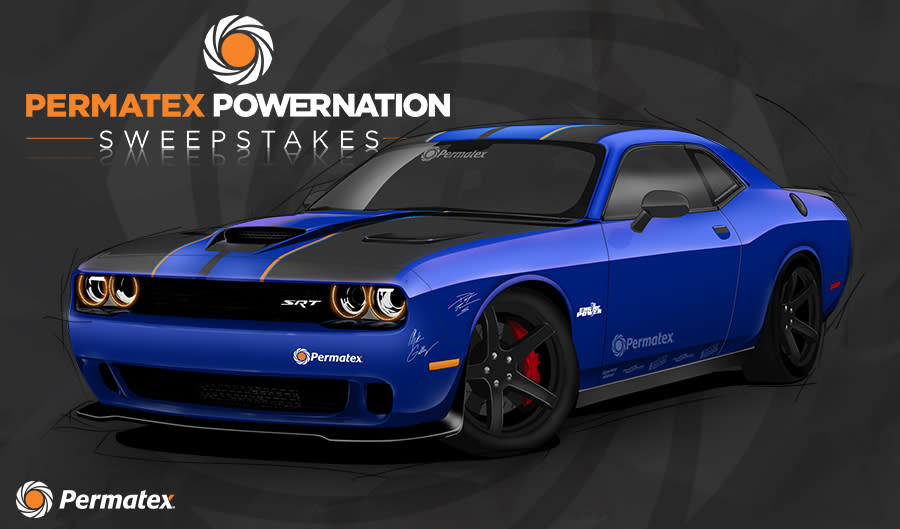 The Permatex POWERNATION Sweepstakes