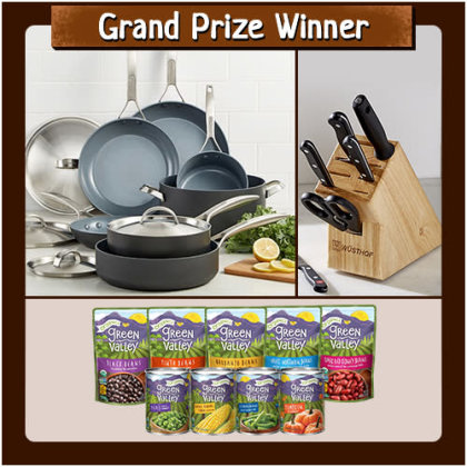 Blog cooking for 1 cookware sweepstakes 2018