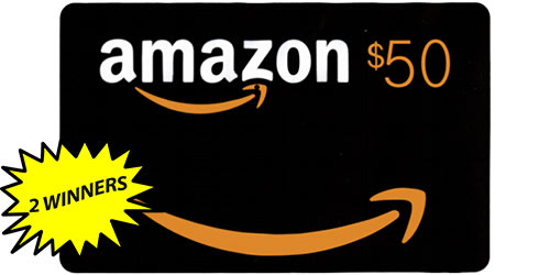 Enter the 50 amazon gift card giveaway 2 chances to win enter for a chance to win a 50 amazon gift card 2 chances to win negle Gallery