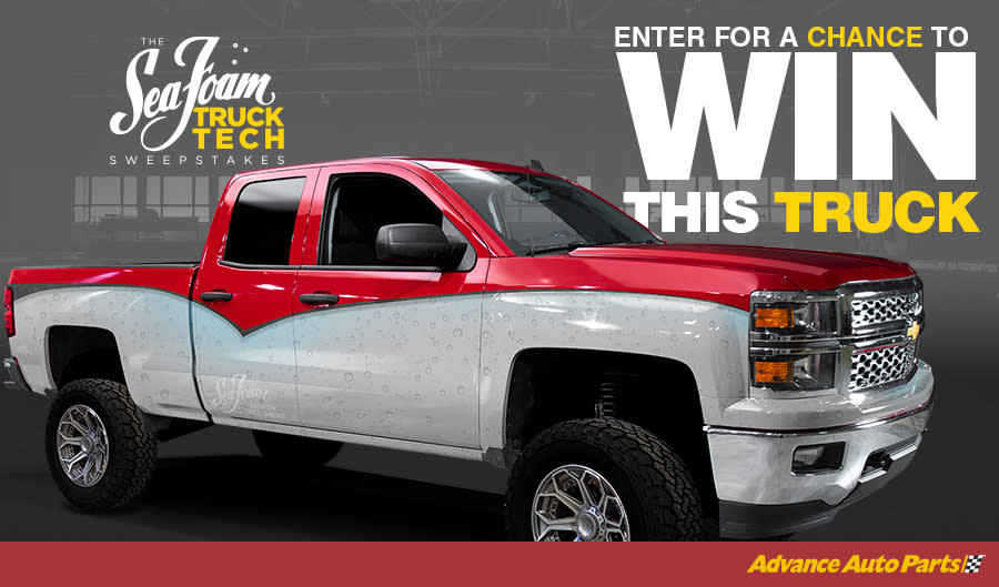 The Sea Foam Truck Tech Sweepstakes