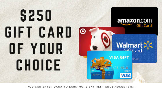 $250 Gift Card Giveaway