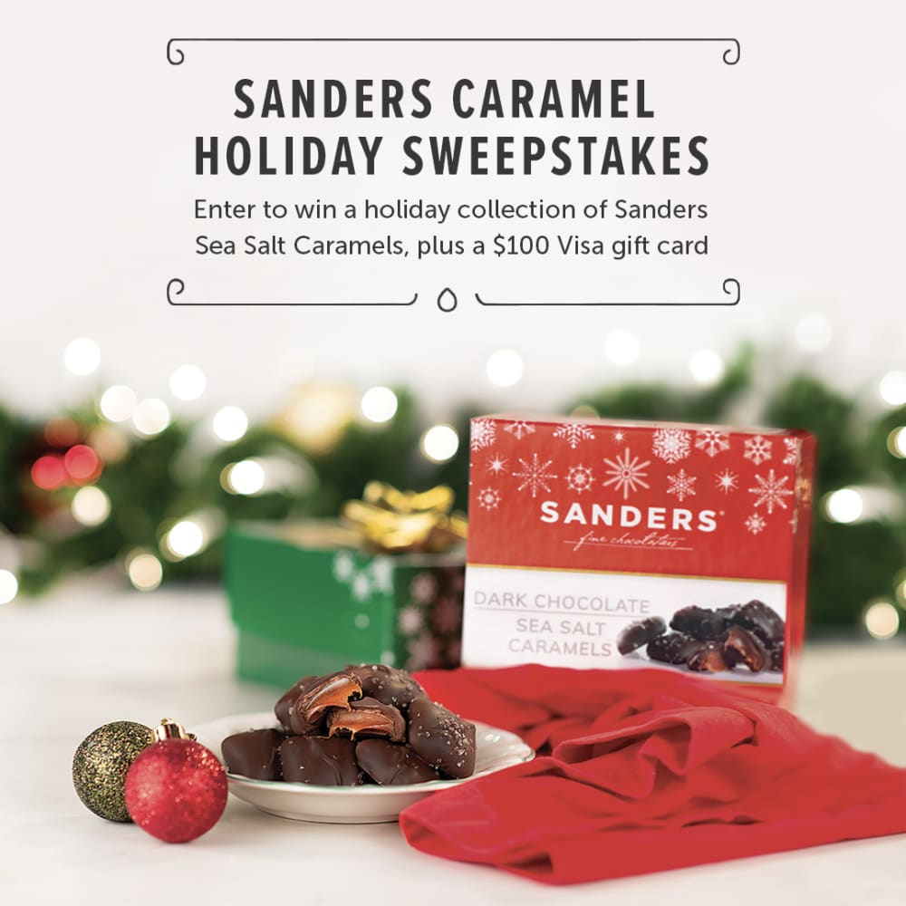 Sanders Candy Holiday Sweepstakes