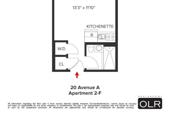 photo of 20 Avenue A  ·  2-F