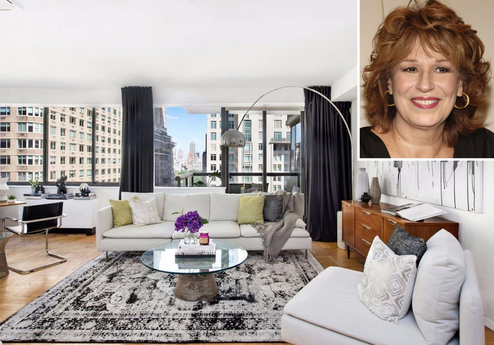 Joy Behar Schlepping to Slick $2.4M Lincoln Square Condo