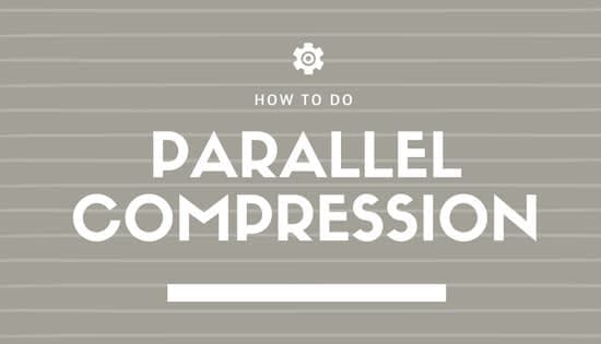 How to use parallel compressoin
