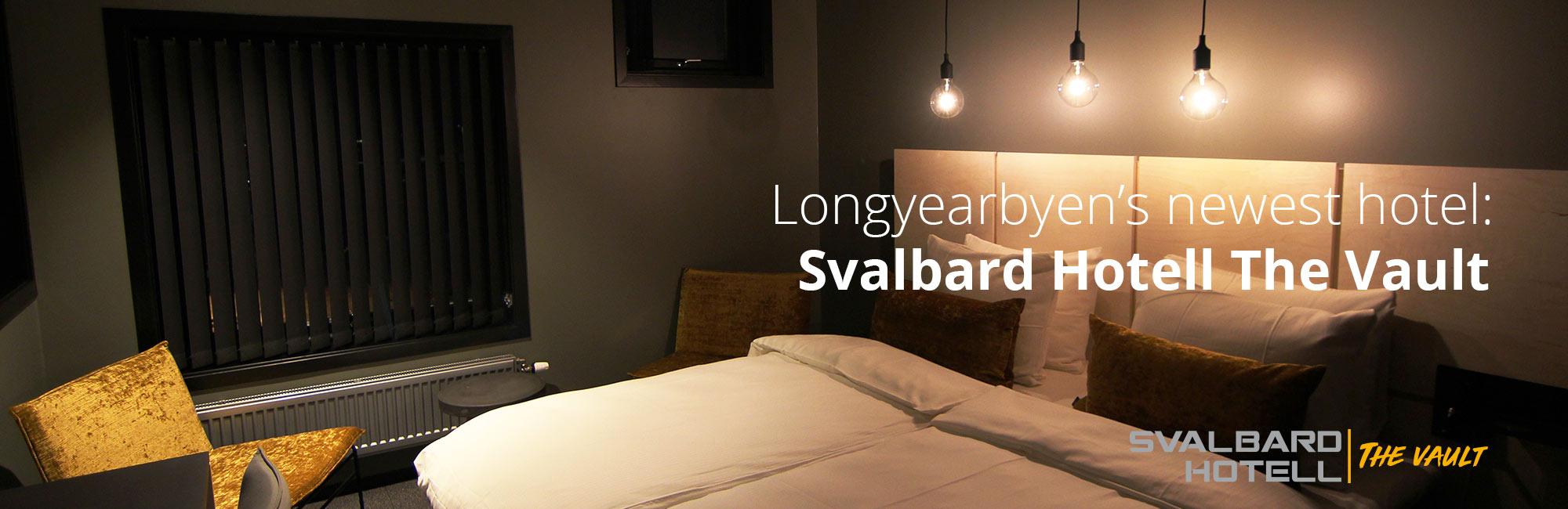 Svalbard Hotel The Vault