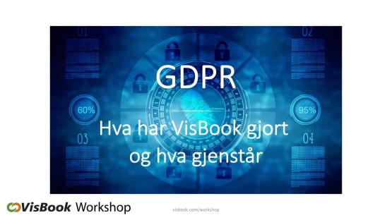Foredrag av Mona Sæbø, VisBook