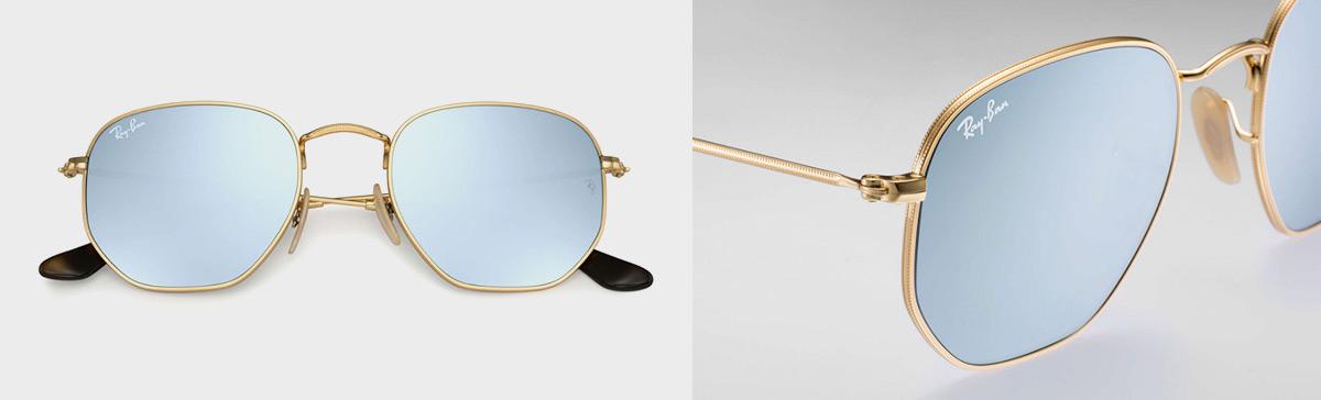 gafas ray ban aviator cuadradas
