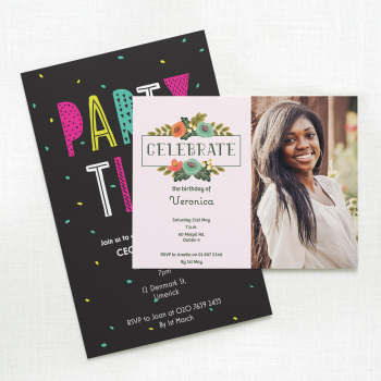 Birthday Teen Invitation