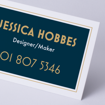 Business Card Natural Uncoated