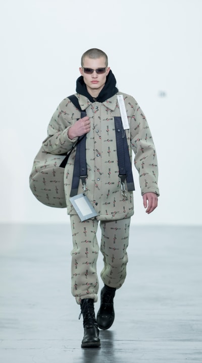 """Catwalk """"Statement N°1"""" - Mode Suisse show - © Visual Society"""