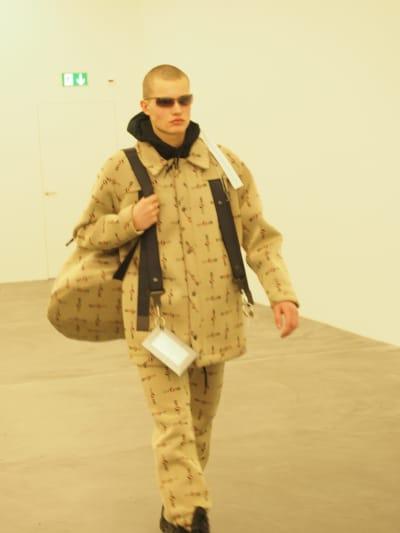 "Catwalk ""Statement N°1"" - Mode Suisse backstage - © Visual Society"
