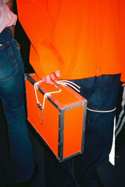 "Catwalk ""Statement N°5"" - HEAD Geneva backstage - © Visual Society"